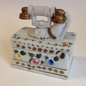 Other - Telephone Toothpick Holder Trinket Jewelry Box